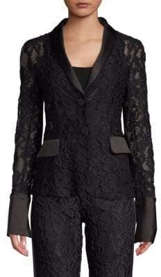 Alexis Bonis Lace Tuxedo Jacket