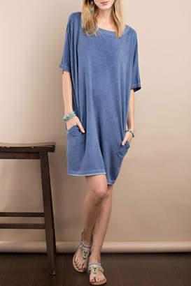 Easel Soft Boxy Dress