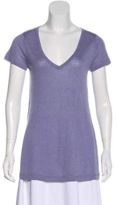 Autumn Cashmere Cashmere Short Sleeve Top w/ Tags
