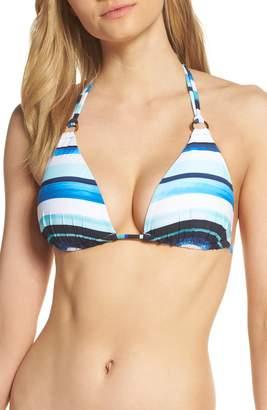 La Blanca Meridian Halter Bikini Top