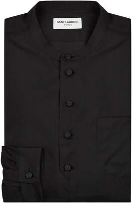 Saint Laurent Woven Wool Shirt