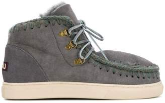 Mou lace-up eskimo boots