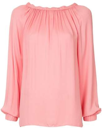 Tibi ruched blouse