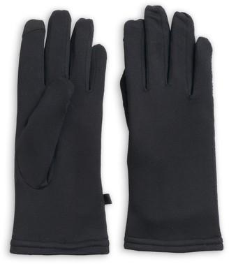 Cuddl Duds Women's Space Dyed Flex Fit Tech Gloves