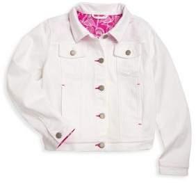 Vineyard Vines Toddler's, Little Girl's& Girl's Buttoned Denim Jacket