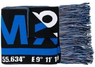 MSGM fringed scarf
