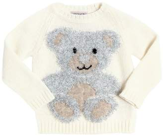 MonnaLisa Virgin Wool, Cashmere & Lurex Sweater