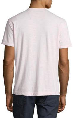 Robert Graham Men's Albie V-Neck Short-Sleeve Cotton Knit T-Shirt