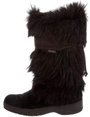 Tecnica Fur-Trimmed Mid-Calf Boots