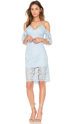 Bardot Karlie Lace Dress in Blue $118 thestylecure.com