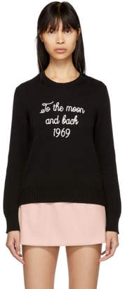 RED Valentino Black To the Moon and Back Sweater