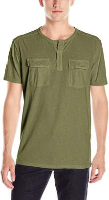 Lucky Brand Men's Short Sleeve Henley