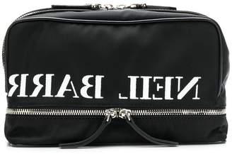Neil Barrett zipped wash bag