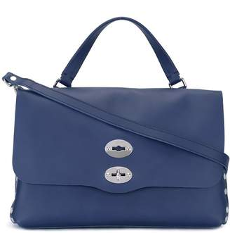 Zanellato flap closure tote
