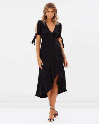 Atmos & Here ICONIC EXCLUSIVE - Malta Midi Wrap Dress
