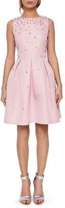 Ted Baker Milliea Embellished Skater Dress
