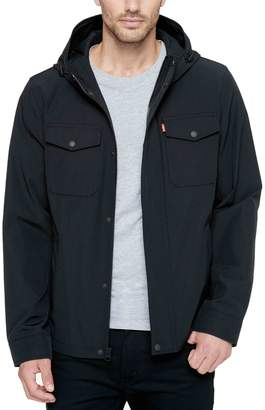 Levi's Levis Men's Arctic Cloth Hooded Rain Jacket