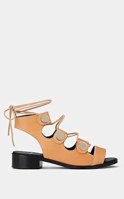 Pierre Hardy Women's Penny Ankle-Tie Sandals - Camel