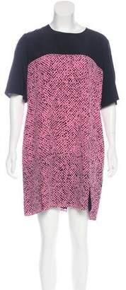 Richard Nicoll Silk Printed Dress