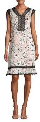 Karl Lagerfeld Paris Printed MJ Dress