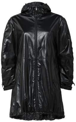 Prada Hooded Nappa Leather Caban Jacket