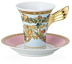 Meets Versace Butterfly Garden After Dinner Cup