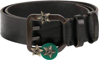 DSQUARED2 star embellished Icon belt