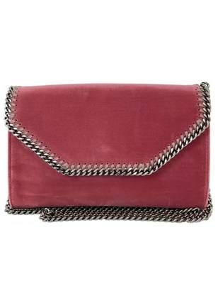 Stella McCartney Stella Mc Cartney Pink Velvet Handbag