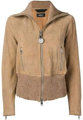 Diesel L-Lys-A zipped jacket