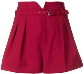 RED Valentino belted shorts