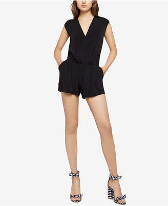 BCBGeneration Slit-Back Romper