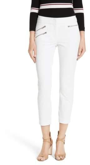 Women's Veronica Beard Roxy Crop Pants