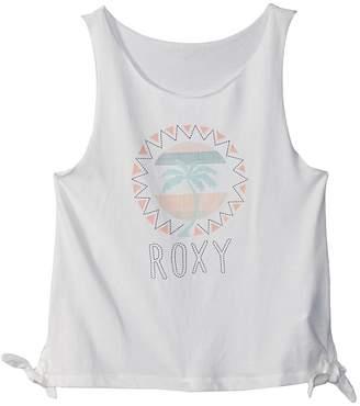 Roxy Kids Pretty Heart Palm Tank Top Girl's Sleeveless