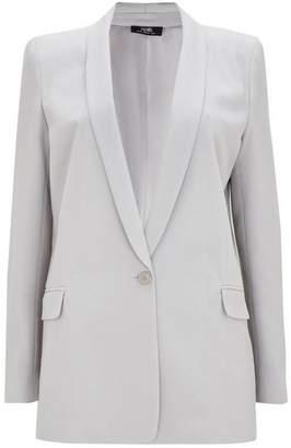 Wallis Grey Fitted Blazer