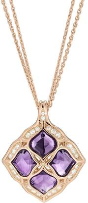 Chopard Rose Gold, Diamond and Amethyst Imperiale Lace Pendant