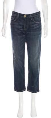 Current/Elliott Boyfriend Mid-Rise Straight-Leg Jeans