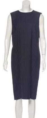 DKNY Wool Midi Dress