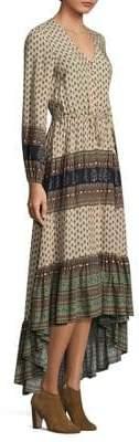 Nightcap Clothing Southwestern Ruffle Gown