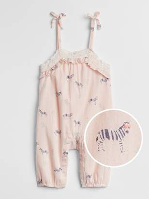 Gap Lace Zebra Tank One-Piece