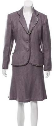Oscar de la Renta Oscar by Tweed Skirt Suit