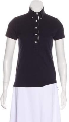 Black Fleece Short Sleeve Polo Top