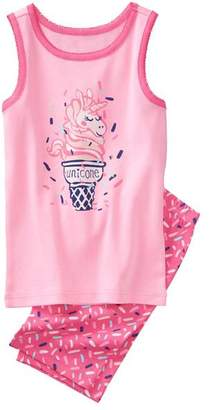 Gymboree Unicone 2-Piece Shortie Pajamas
