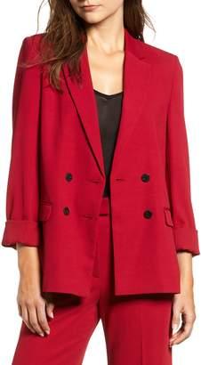 Topshop Slouch Suit Blazer
