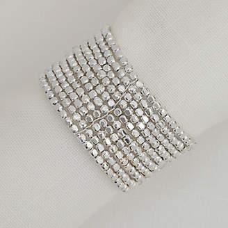 John Lewis Bead Napkin Ring, Set of 4