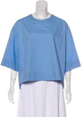 Isabel Marant Scoop Neckline Short Sleeve Top