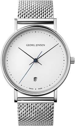 Georg Jensen Koppel stainless steel mesh watch