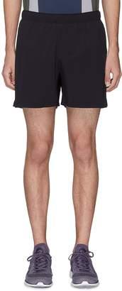 """Isaora 'Versa' 5"""" perforated outseam running shorts"""