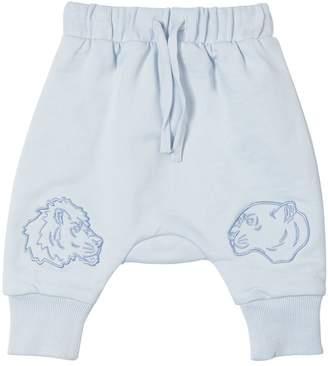 Kenzo Animals Embroidered Cotton Sweatpants