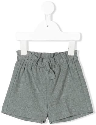 Il Gufo paperbag waist shorts