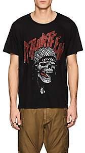 R 13 Men's Logo & Skull Cotton T-Shirt - Black